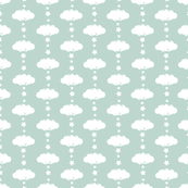 Cloud 9 Mini Mint Clouds & Stars