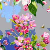 Wild Apple & Honey Bees #2