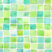 reproof of watercolorsquares2_limeaqua
