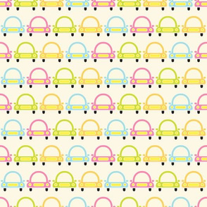 Baby colorful car