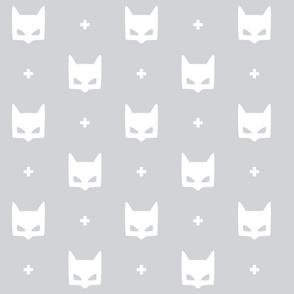 batmask + LG white grey