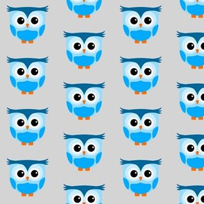 Cute Owl Lightblue