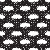 Cloud 9 Mini Black & White Clouds & Stars