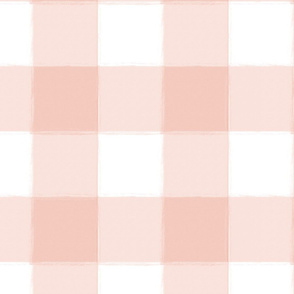 Large Blush Pink Buffalo Check Gingham
