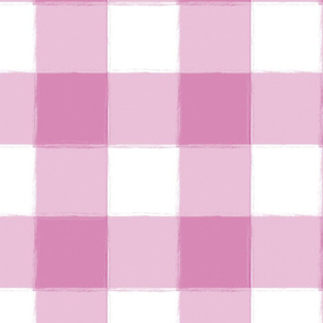 Large Lilac Buffalo Check Gingham
