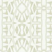 Nordic White Beige Green