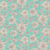 Floral_Turq