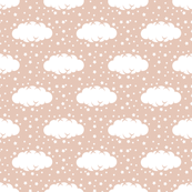 Cloud 9 Mini Rose Clouds & Stars