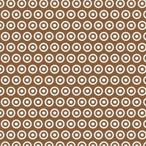 Woodland Whimsical Dot Brown