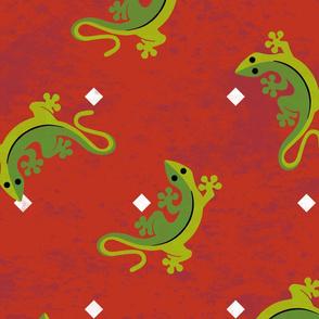 Gecko Scatter Large