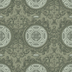 Rococo Damask 6d