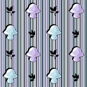 Mushroom Stripes