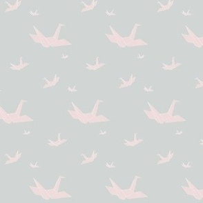Paper Crane - Soft Pink
