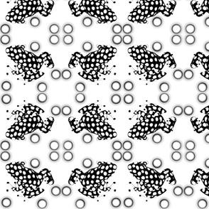 Froggy Polka Dots