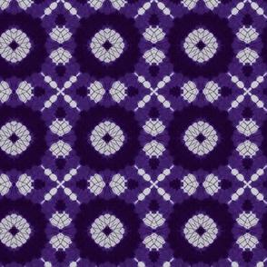 Purple Shibori Kaleidoscope