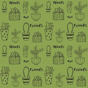 Plants are Friends Print