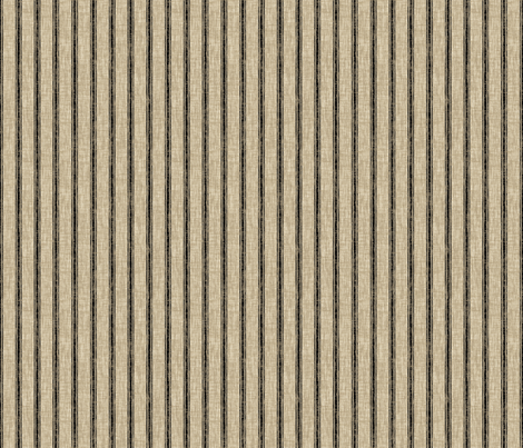 Weathered Ticking Stripe - black
