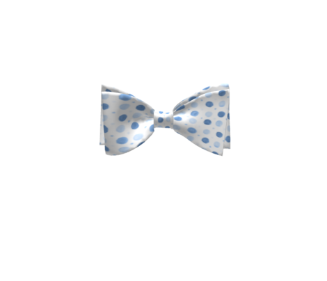 Pale Blue Watercolor Polka dots