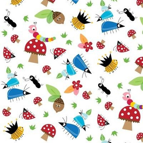 halfpinthome Bug fabric