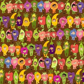 Little Cuties Garden Kids: Brown