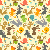 Little Cuties Animal Friends: Yellow