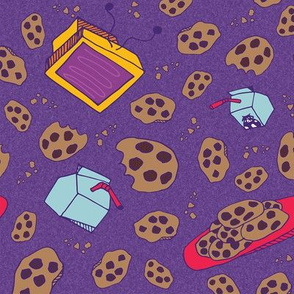 COOKIES AND TV!