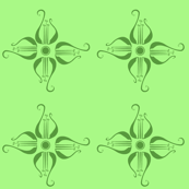 Green Lyre Flowers