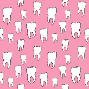 Teeth pink