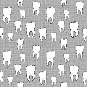 Teeth crosshatch