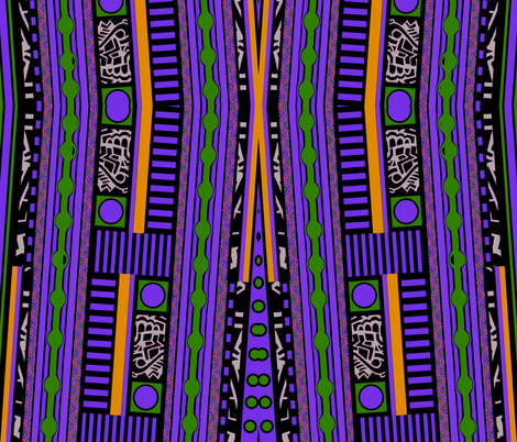 Funky Town Stripes Purple