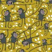 Monkey tree (ocre)