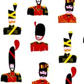 Moustache Soldiers