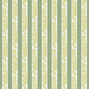Curtain Stripe Loeb Green