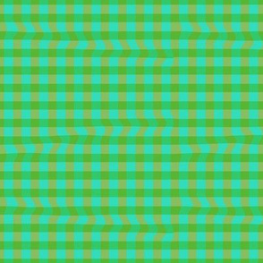 Wrinkled Gingham (Green)