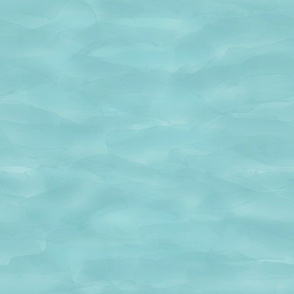 Ocean Waves in Aqua