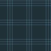 "jacket tartan - navy - 3"" scale"
