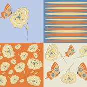 Tuscan Patchwork Butterflies