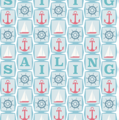 Anchors, Sailboats and Ship Wheels
