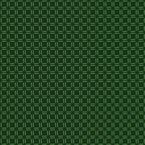 Grassy Checker - Dark Green