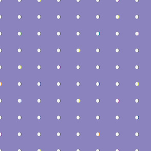 butterfly dots purple