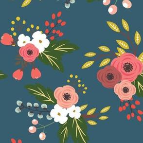 FlowersDarkBlue
