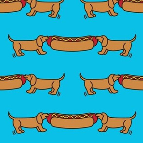 Hot Dog-o-War (Blue)