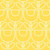 MCM Tulip Line Yellow