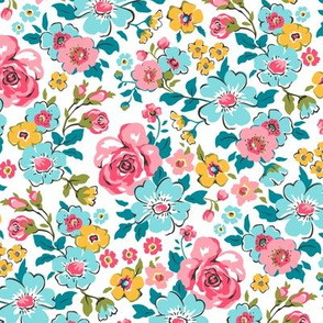 Ditsy Flowers Floral