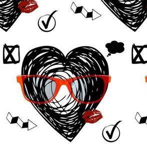 Grounge heart