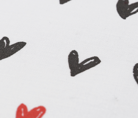 doodle hearts