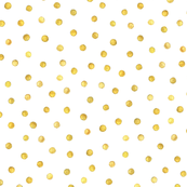polka dot in gold