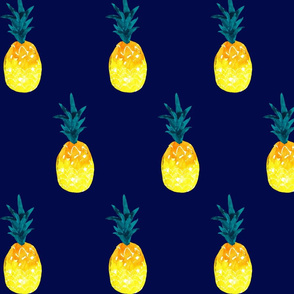 pineapple summer_navy
