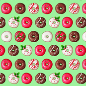 christmas Donuts