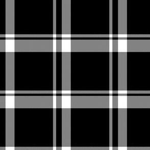 Black and White Plaid 2